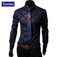 Men's Long Sleeve Dress Shirts