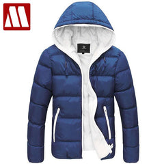 Men's Padded Down Winter Jacket