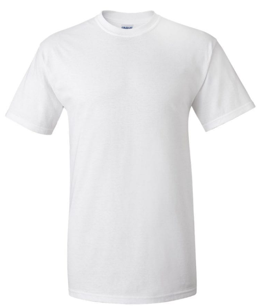 GILDAN WHITE MENS