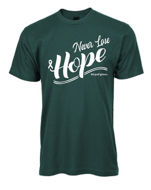 NEVER LOSE HOPE - Teal