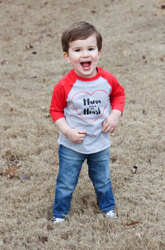 Mama Stole My Heart Toddler Raglan
