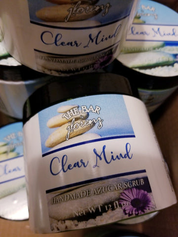 Clear Mind Azucar Scrub