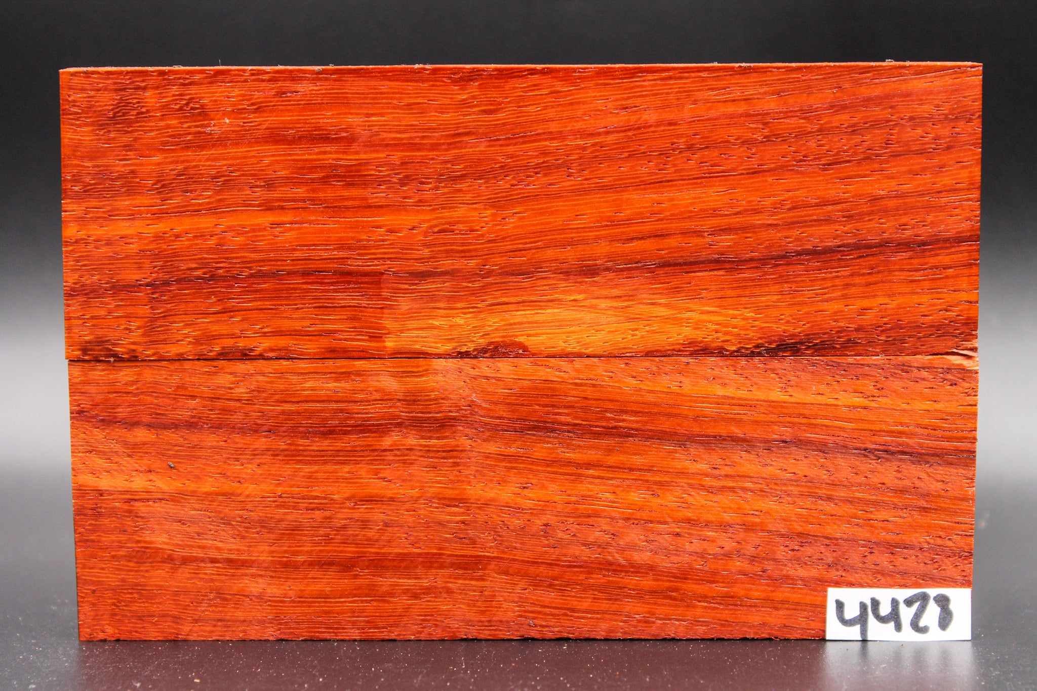 Rare Exotic Padauk Wood Knife Scales, Wood Blank Handle, Pistol Grips 4428 - Exotic Knife Scales | Rundle Woodworks