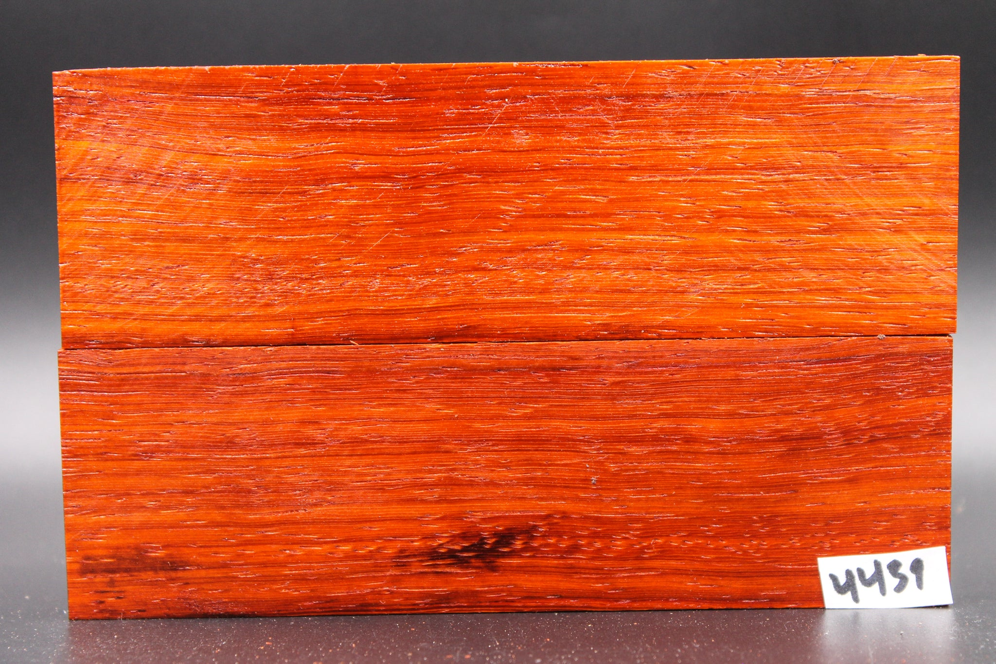Rare Exotic Padauk Wood Knife Scales, Wood Blank Handle, Pistol Grips 4439 - Exotic Knife Scales | Rundle Woodworks