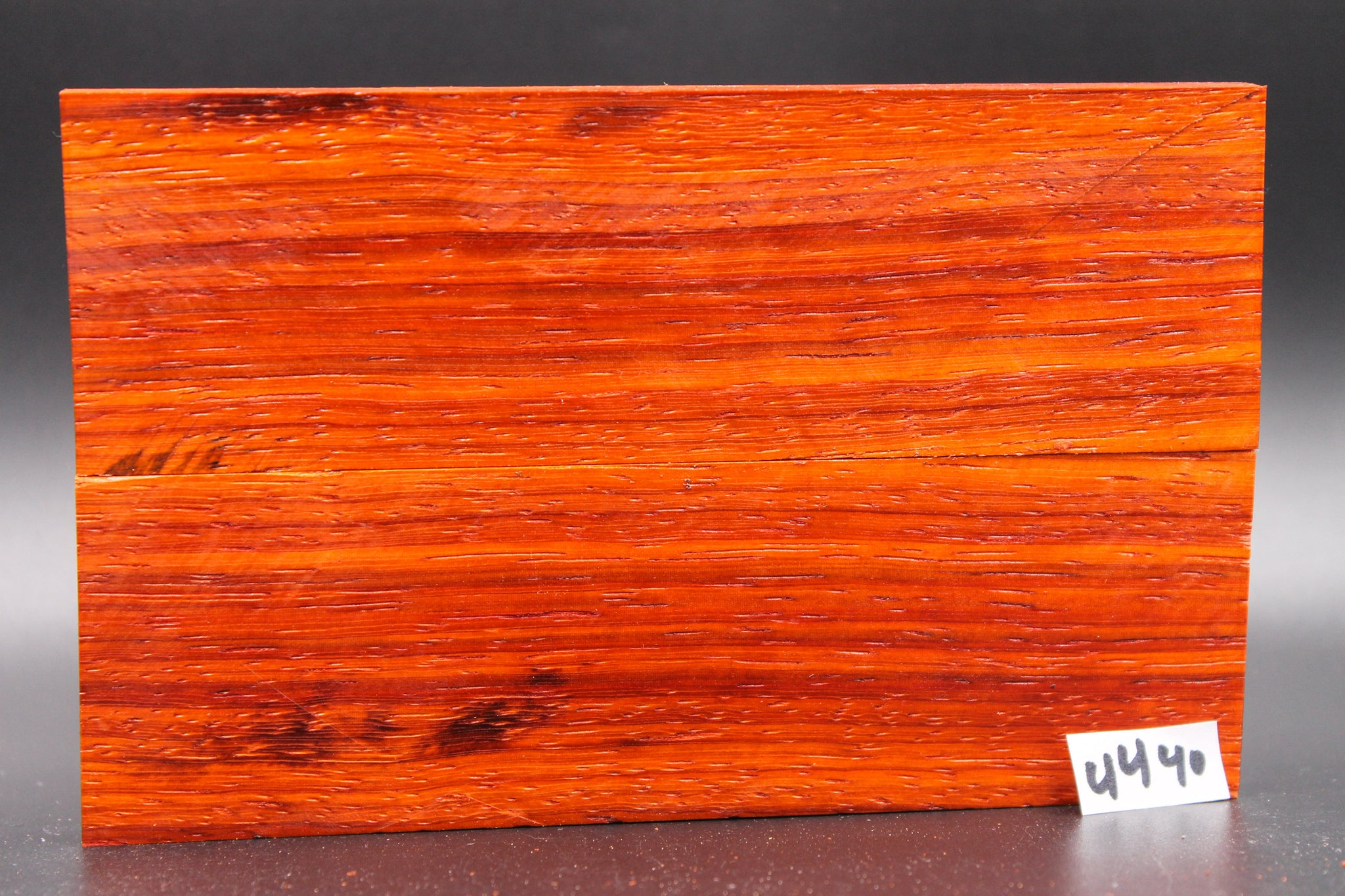 Rare Exotic Padauk Wood Knife Scales, Wood Blank Handle, Pistol Grips 4440 - Exotic Knife Scales | Rundle Woodworks