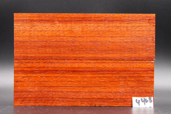 Rare Exotic Padauk Wood Knife Scales, Wood Blank Handle, Pistol Grips 4468 - Exotic Knife Scales | Rundle Woodworks