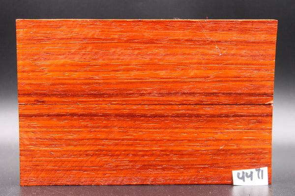 Rare Exotic Padauk Wood Knife Scales, Wood Blank Handle, Pistol Grips 4471 - Exotic Knife Scales | Rundle Woodworks
