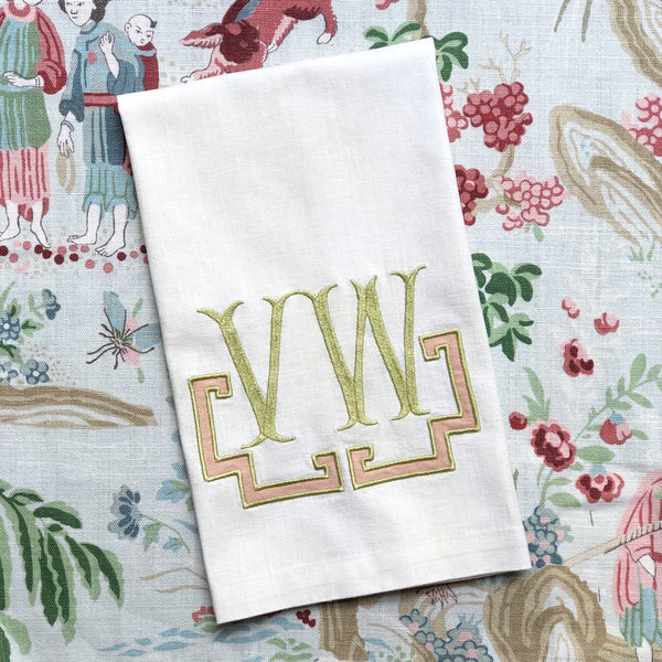 Ivory Hand Towels (Set of Two)