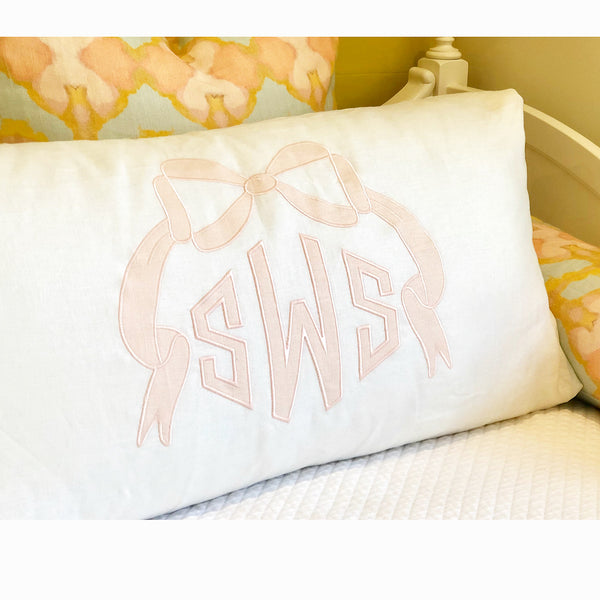 White Standard Bed Pillow Sham