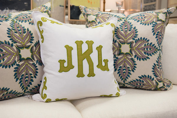 White Throw Pillow Sham