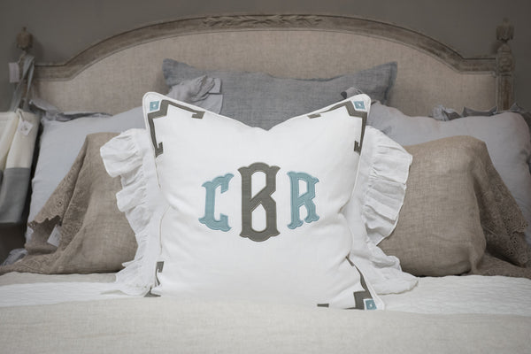 White Euro Pillow Sham