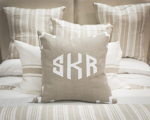 Flax Euro Pillow Sham