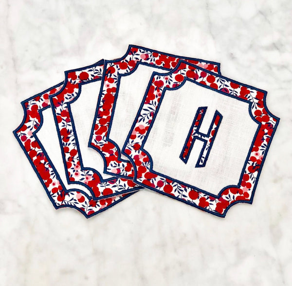 Liberty London Coaster Napkin (Set of Four)