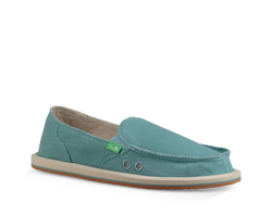 SANUK DONNA HEMP MINERAL BLUE - The Cabana