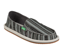 SANUK DONNA KEYS RANCH BLACK - The Cabana