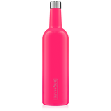BRUMATE - Winesulator 25oz Wine Canteen | Neon Pink - The Cabana