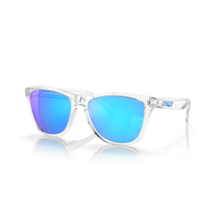 OAKLEY - Frogskins | Clear w/ Prizm Sapphire - The Cabana
