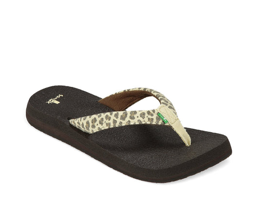 SANUK WOMENS YOGA WILDLIFE CHEETAH