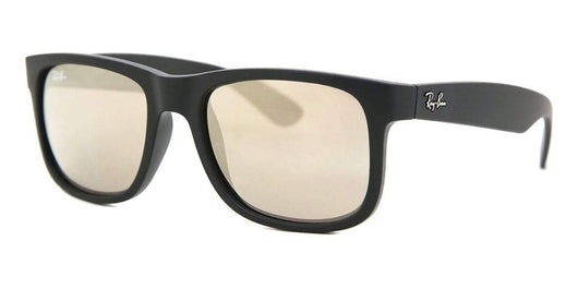 RAYBAN - JUSTIN - BLACK RUBBER / GOLD LENS - The Cabana