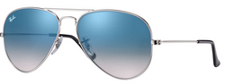 RAYBAN AVIATOR LIGHT BLUE GRADIENT