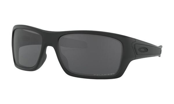 OAKLEY - Turbine Matte Black w/ Grey Polarized - The Cabana