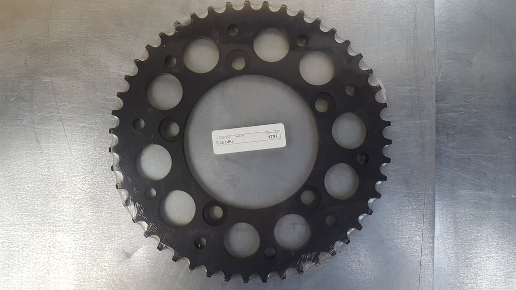 #1797-47T Rear Sprocket - GSX1400 - Hard Anodized Aluminum