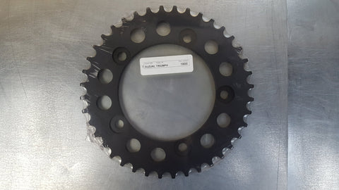 #1800-43T Rear Sprocket - SV1000 GSXR1000 GSXR1300 Hayabusa GSF1200 Bandit - 530 Pitch - Hard Anodized Aluminum