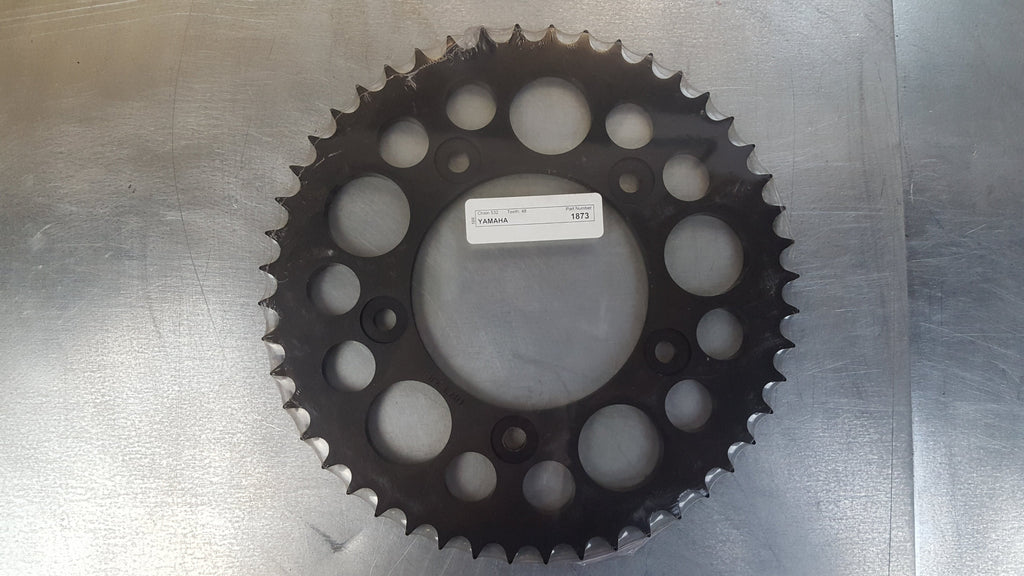 #1873-48T Rear Sprocket - R6 - Hard Anodized Aluminum