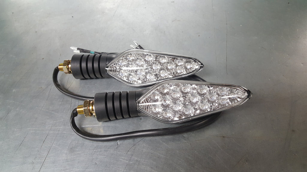 LED DOT Turn Signals - Clear Lens