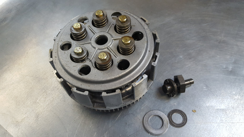 clutch basket no plates 1g sv650 99-02