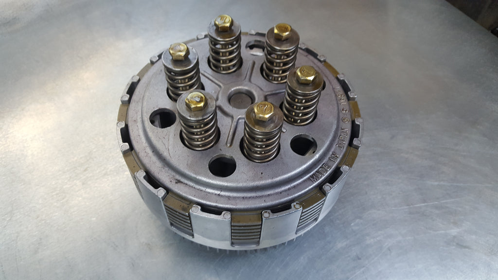 clutch basket with plates 1g sv650 99-02
