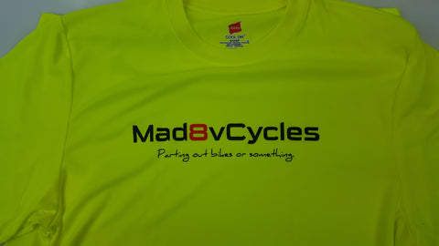 mad8vcycles Hi-Viz Cool Dri Men's T-Shirt