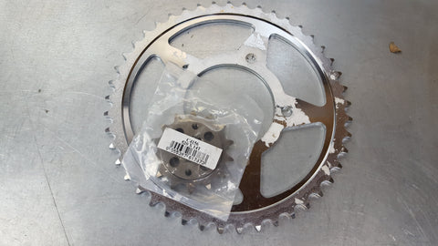 sprocket pair 99-09 sv650