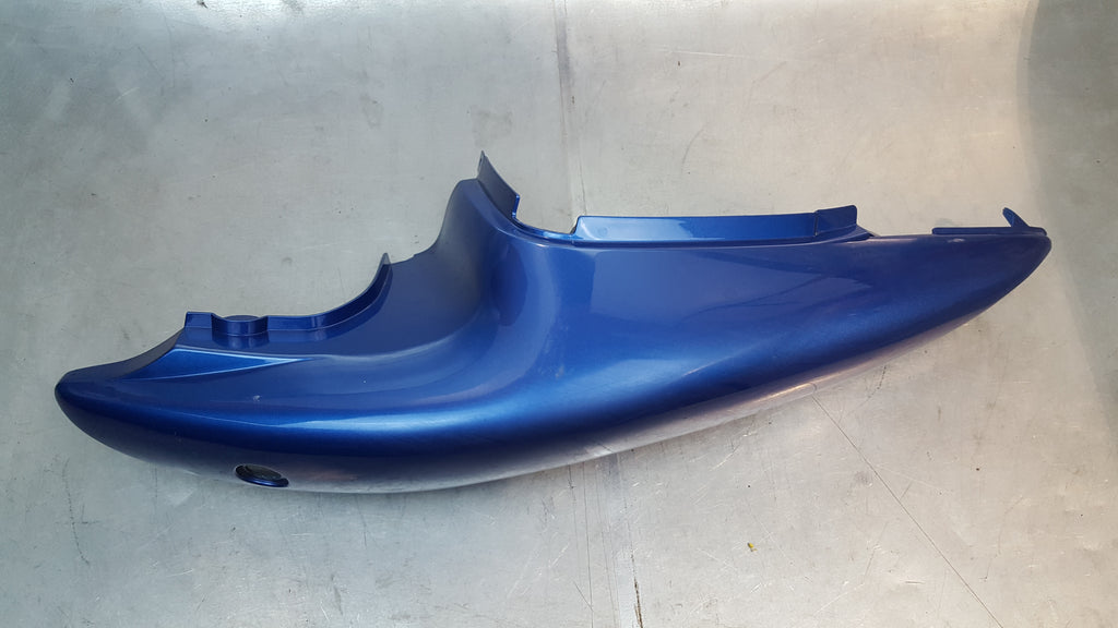 non-oem blue left tail fairing plastic 1g 99-02 sv650