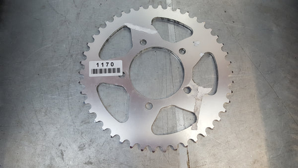 vortex 520 pitch rear aluminum sprocket 46 tooth 528A-46 all years sv650