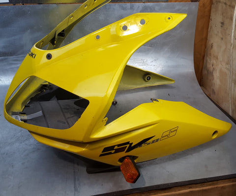 yellow main fairing YEC  sv650/sv1000 2003+