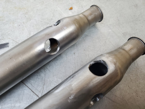 Damper rods Filled/drilled for emulators 1g sv650 99-02