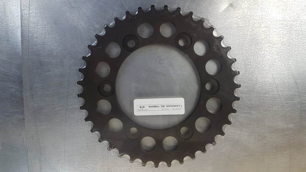 #479-45T Rear Sprocket - GSXR1000 FZ1 FZ6 R1 - 530 Pitch - Hard Anodized Aluminum