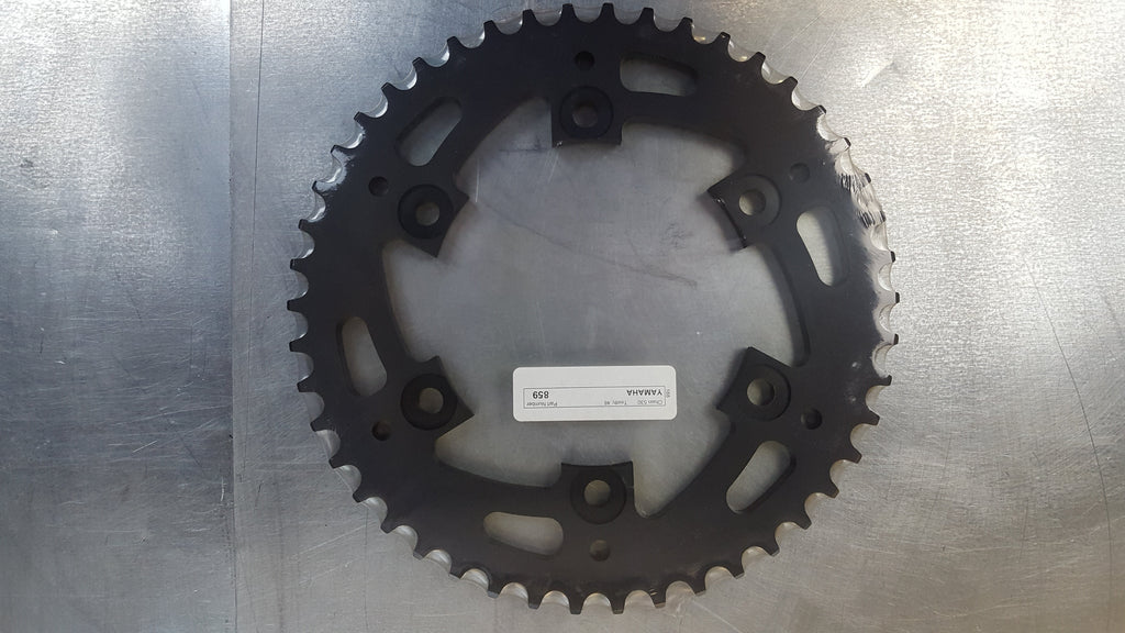 #859-46T Rear Sprocket - FZR1000 YZF1000R YZF600 530 conversion XJR1200  - Hard Anodized Aluminum