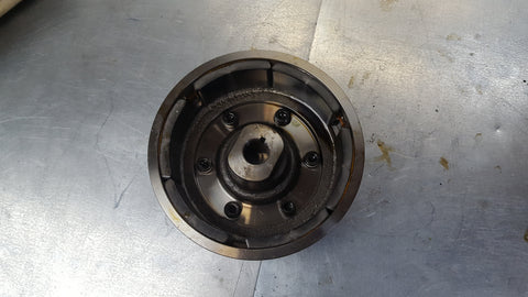 flywheel with good magnets and starter clutch sv1000 2003+