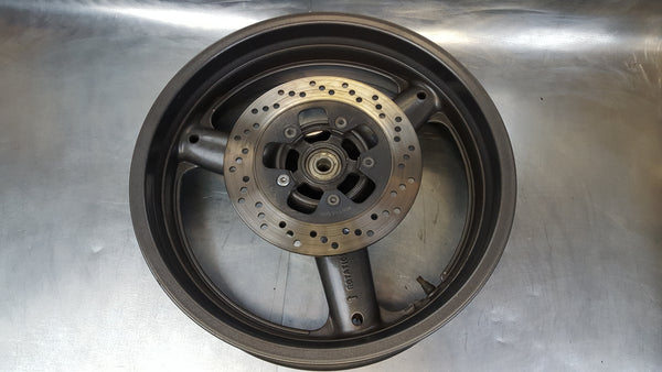 rear wheel needs bearings .010 off 1g sv650 99-02