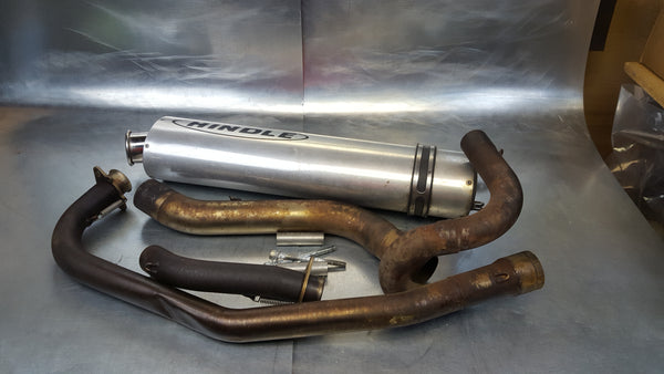 hindle high mount full exhaust system 2g sv650 03+