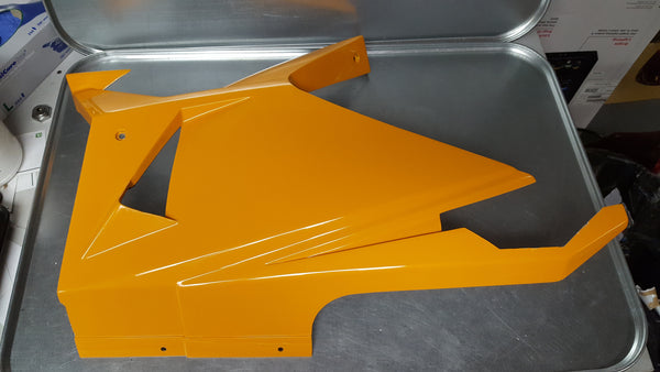 New Old Stock - Bottom Left Fairing Plastics for Fischer MRX