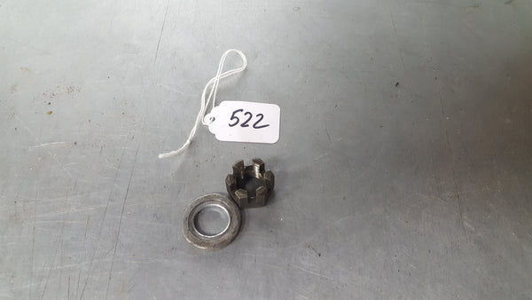 rear axle nut and washer 1g sv650 99-02