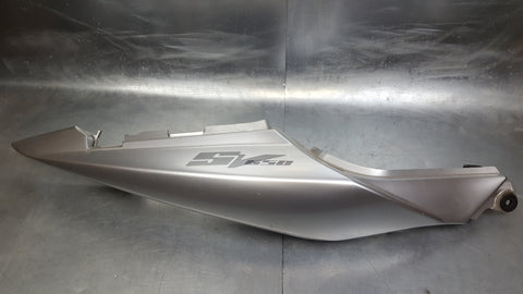 right tail plastic fairing piece 03+ sv650/sv1000 YD8 Silver