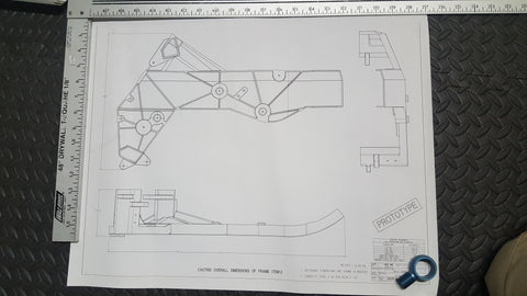 Fischer Main Frame Print (Side View)