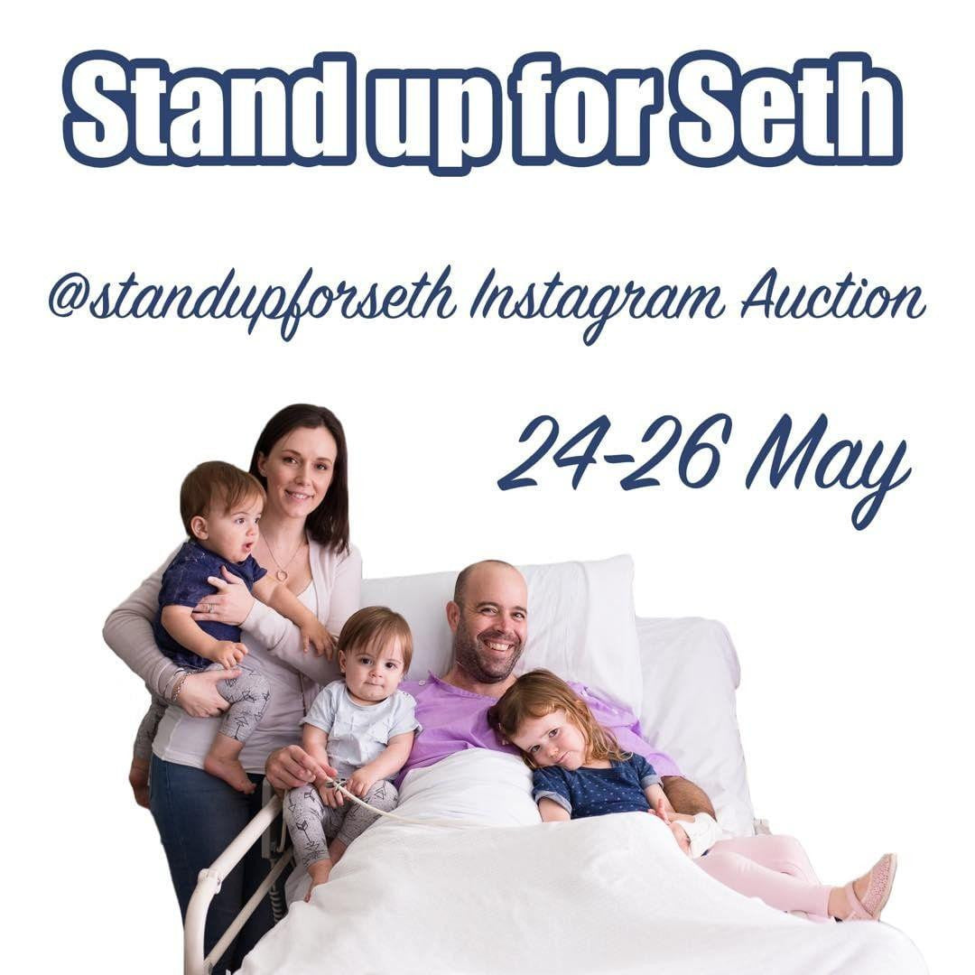 Stand Up for Seth Charity Auction TONIGHT!