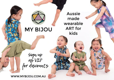 Aussie made wearable art My Bijou features Aussie artists