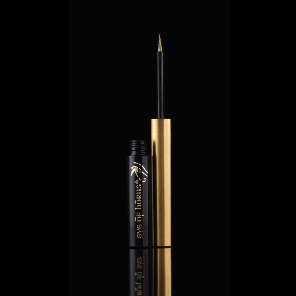 EYE OF HORUS ALCHEMY GOLD METALLIC LIQUID EYELINER