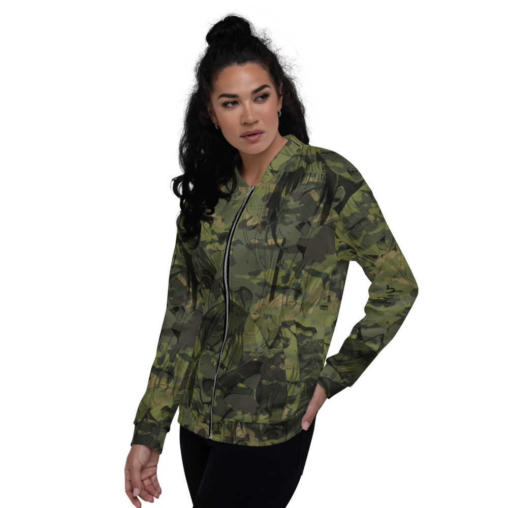 Multicum Trapic Bomber Jacket - Tactical Bacon Patches